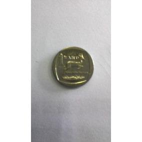 Moeda África Do Sul - 1 Rand De 2010 - Níquel. Ótimo Estad.