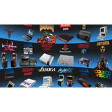 Pack De Emuladores Snes, Sega, Atari, Nintendo Y Muchos Mas