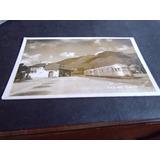 Capilla Del Monte - Foto Postal Estacion De Tren 1943