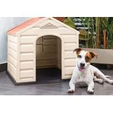 Casa Para Perro Razas Pequeñas Facil Lavado Marca Rimax