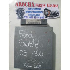 Computadora Ford Sable 2003 3.0 3f1a-12a650-ka Pcm267