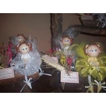 Souvenirs Angelitas Para Comunión En Porcelana Fría...!!!!