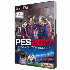 Pes 2017 Br Futebol Português Ps3 Blu-ray Midia Fisica Origi