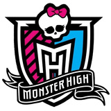30 Logo Monster High Adesivo 5cm