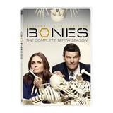 Dvd Bones 10ª Décima Temporada Leg Português Lacrado 6 Disc