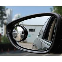 Espelho Convexo Auxiliar/ Ponto Cego Autoadesivo Carro