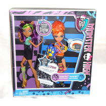 Juguetibox: Monster High Clawdeen Y Howleen Wolf 1er Edicion