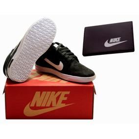 Tenis Nike Suketo Infantil Original Cano Alto + Carteira