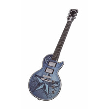 Paper Jamz Pro Guitar Blue Style 1 Nueva