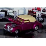 1940 Ford Coupe Convertible 100% Hot Wheels Hot Rod