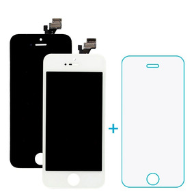 Tela Display Lcd Touch Iphone 5 5g 5s 5c + Película Vidro
