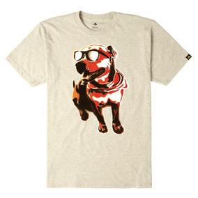 Remera Emerica Chief Dog Beige