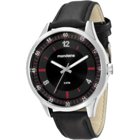 Relógio Masculino Mondaine Pulseira De Couro 76679g0mvnh1