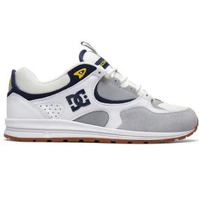 Tênis Dc Shoes Kalis Lite White Grey Yellow