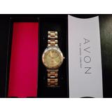 Avon Reloj Dorado Femenino Nuevo!!!