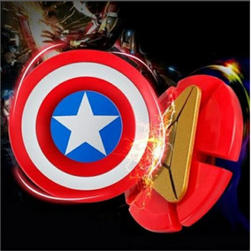 Spinner Capitán America Y Iron Man, Dos A Un Super Precio