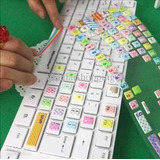 Stickers Keyboard Pegotines Para Teclado Calidad ®