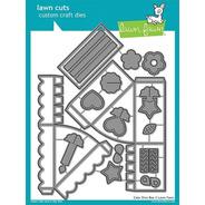 Suaje Lawn Fawn Scrapbook Manualidades Rebanada Pastel Caja