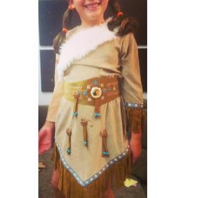 Fantasia Pocahontas Disney 7 Anos - Usada