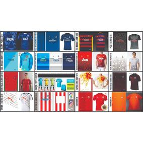 Vetores (templates) Para Camisetas Esportivas / (sublimação)