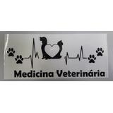 Adesivo Personalizado Medicina Veterinaria Pet Dog