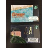 Tarjetas Starbucks (2) Orange County Y La
