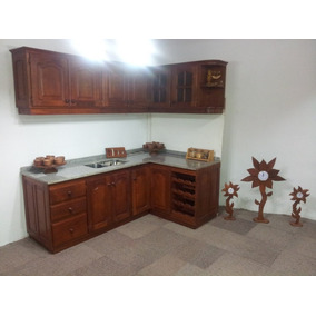 Muebles de cocina algarrobo madera en mercado libre Mercadolibre argentina muebles usados