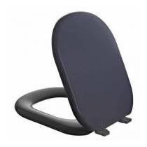 Assento Almofadado Astra P/ Vaso Linha Flox Fiori Preto