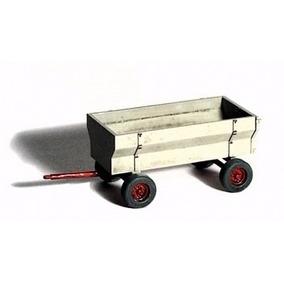Carreta Agrícola (em Metal) Escala Ho - Kit Para Montar