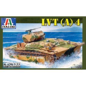 Tanque Italeri Lvt(a) 4 1/35 Armar Pintar/ No Revell Tamiya