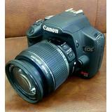 Canon T1i 18-55 Garantia 1 Año Estuche Memoria 15 Mp Full Hd