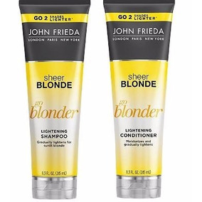 John Frieda Sheer Blonde Go Blonder Shampoo + Cond. 250ml