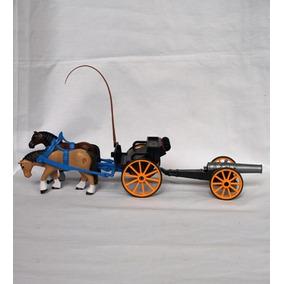 Playmobil Velho Oeste - Charrete Carroça Velho Oeste União