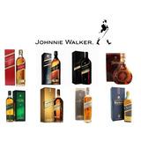 Whisky Johnnie Walker Red, Black, Gold, Blue, Azul, Chivas
