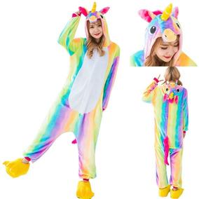Pijama Original Unicornio Arcoiris Importada Kigurumi.ent In