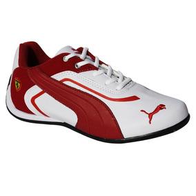 Tenis Puma Ferrari . Branco vermelho. Grande Oferta ! b60d803544cc9