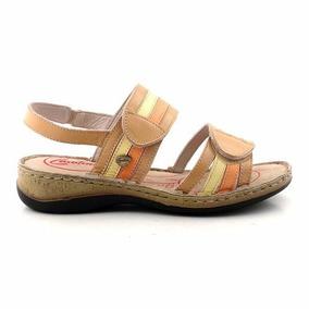 Sandalia Mujer Cuero Cavatini Zapato Goma Confort Mcsd04417