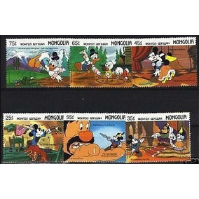 Timbres De Caricaturas De Mickey Mouse Y El Pato Donald
