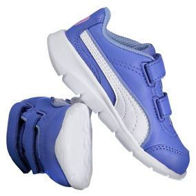 Tênis Puma Step Fleex Fs Sl V Infantil Azul