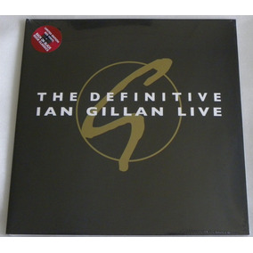 The Definitive Ian Gillan Live 2lp Deep Purple Black Sabbath