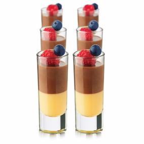 Mini Vasos De Postre, Shot Parfait De Libbey® - 12 Piezas