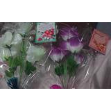 Flores Artificiales Por Mayor $25