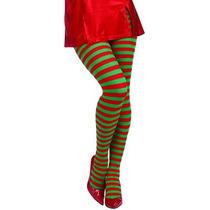 Disfraz Adulto De Navidad Medias De Rayas Foro Novedades De