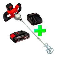 Mezclador Cemento Pintura Te-mx 18 Einhell + Kit Bat 2.5 Amp