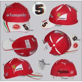 Gorra Puma Scuderia Ferrari Sebastian Vettel Genuina F1