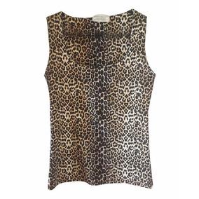 Remera Musculosa Animal Print Zara
