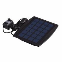 Painel Solar 2,5w + Bomba Dagua Bicos Aste P/ Fontes Jardins