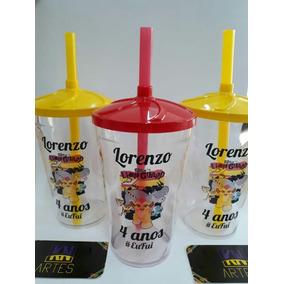 50 Copo Twister Personalizado Guarda Dos Leões!!!