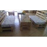 Muebles De Tarimas/pallets/palets/ Sala/ Remate