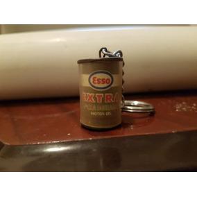 Chaveiro Antigo Esso Extra Motor Oil